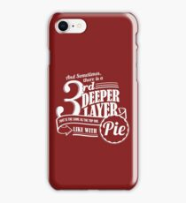 Dr. Horrible's Pie Quote iPhone Case/Skin