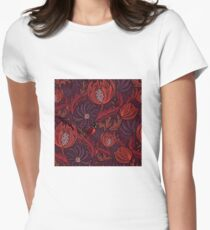 Find a ladybug  Womens Fitted T-Shirt