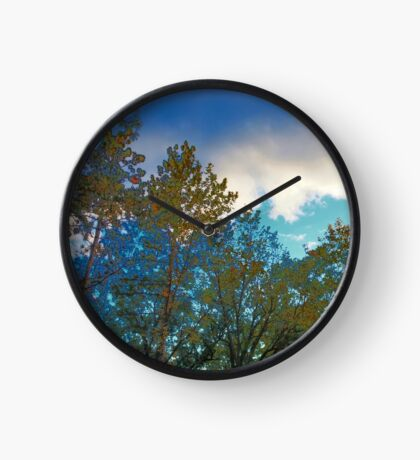 A View Through the Trees Clock