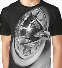1951 Mercury M74, Car Wheel Graphic T-Shirt