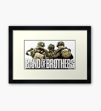 Band of Brothers Framed Print