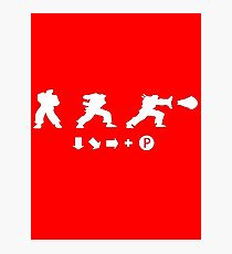 Street Fighter - Hadouken Photographic Print