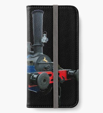 Blue Circle  iPhone Wallet