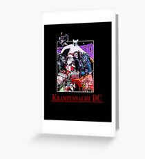 Krampusnacht DC Greeting Card