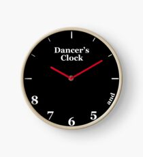 Dancer's Clock Clock