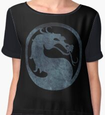 °GEEK° Mortal Kombat Logo Women's Chiffon Top