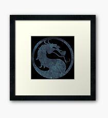 °GEEK° Mortal Kombat Logo Framed Print
