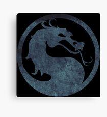 ° GEEK ° Mortal Kombat Logo Canvas Print
