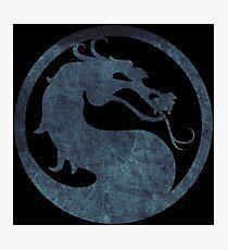 °GEEK° Mortal Kombat Logo Photographic Print