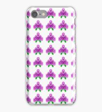 Afternoon violets iPhone Case/Skin