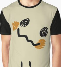 Mimikyu Face Tilted w Eyes - Pokemon Graphic T-Shirt