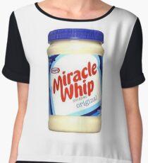 Kraft Miracle Whip Design Women's Chiffon Top