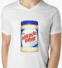 Kraft Miracle Whip Design Men's V-Neck T-Shirt