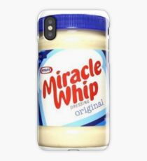 Kraft Miracle Whip Design iPhone Case/Skin