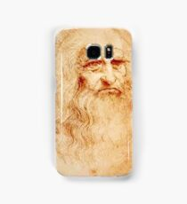 Da Vinci Self Portrait Samsung Galaxy Case/Skin