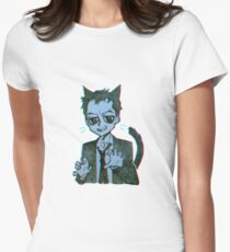 Meowiarty Women's Fitted T-Shirt