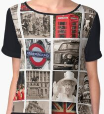 Celebrate London Women's Chiffon Top
