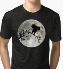 The Elephant And The Moon Tri-blend T-Shirt