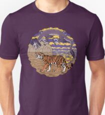 Tiger and Dragon Unisex T-Shirt