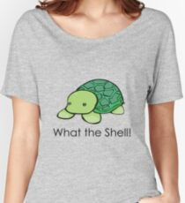 What the Shell! (Pun) Women's Relaxed Fit T-Shirt