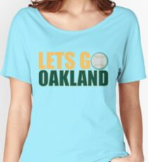 To The Playoffs Women's Relaxed Fit T-Shirt
