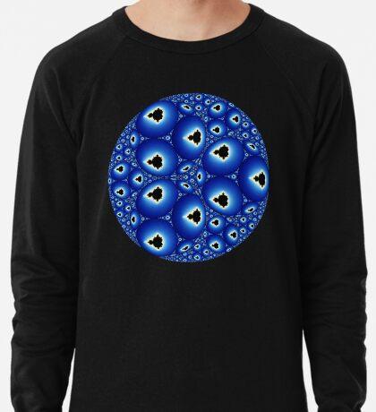 Apollonian Gasket Mandelbrot 001 Lightweight Sweatshirt
