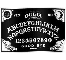 Ouija-White Poster