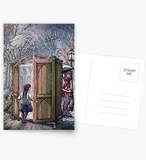 Lucy's Discovery, Narnia Fan Art Postcards
