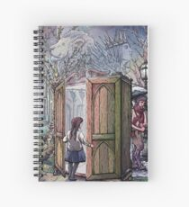 Lucy's Discovery, Narnia Fan Art Spiral Notebook