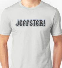Jeffster tribute band from Chuck TV show T-Shirt