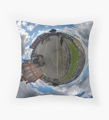 Verbal Arts Centre on the Walls of Derry Throw Pillow