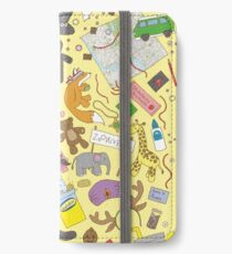 Boosh pattern iPhone Wallet/Case/Skin