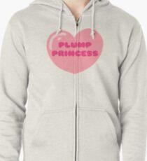 Plump Princess Zipped Hoodie