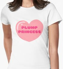 Plump Princess Womens Fitted T-Shirt