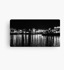 The Night Minsk Canvas Print