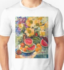 Sunflowers and Watermelon Unisex T-Shirt