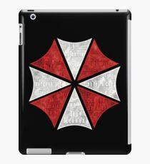 Resident Evil Umbrella Typography iPad Case/Skin