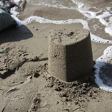 Heart Sandcastle by DWBailey
