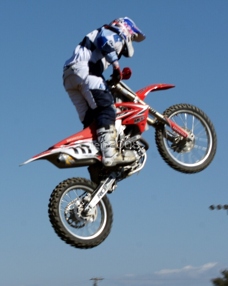 Motocross is .... more than a leap of faith!  Perris MX, Perris CA USA by leih2008
