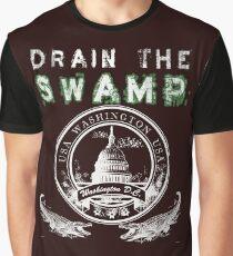 Drain the Swamp Pro Trump Apparel Graphic T-Shirt