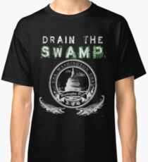 Drain the Swamp Pro Trump Apparel Classic T-Shirt