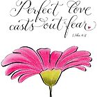 Perfect Love insiprational verse by Melissa Renee