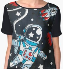 Space Walk Chiffon Top