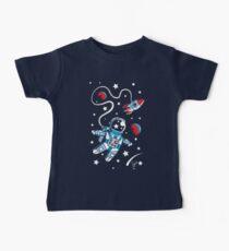 Camiseta para bebés Space Walk