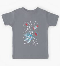 Space Walk Kids Tee