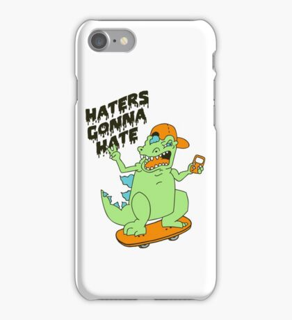 Haters Gonna Hate - Reptar (basic) iPhone Case/Skin