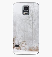 Winter storm on the mountain Case/Skin for Samsung Galaxy