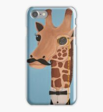 Gentleman Giraffe iPhone Case/Skin