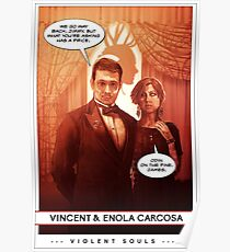 Violent Souls - The Carcosas Poster