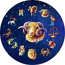 Aries Clock Star Signs Horoscope by Gotcha29
